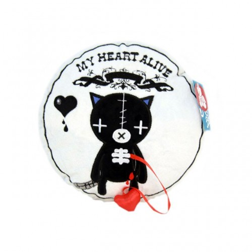 """Подушка """"Кот живое сердце"""""""
