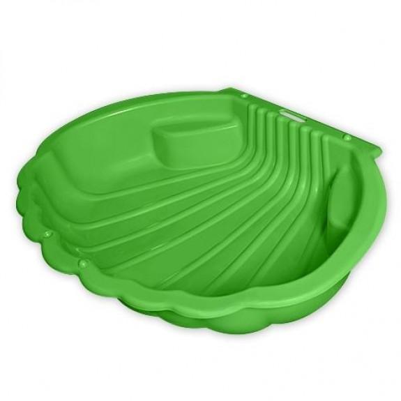 Песочница-ракушка (зелёная)
