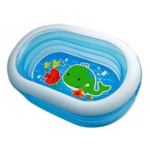 Детский бассейн овал Intex