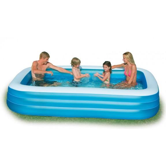 Надувной бассейн для детей 305х183х56 см