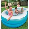 """Надувной бассейн для детей """"Большая лагуна"""" 262х157х46см"""