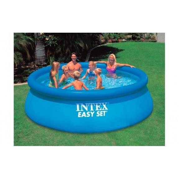 Надувной бассейн для детей и взрослых 366х91см 28144