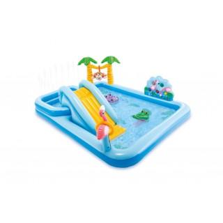 """Надувной бассейн для детей """"Игровой центр"""" 257х216х84 см"""