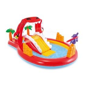 """Надувной бассейн для детей """"Игровой центр Happy Dino"""" 259х165х107 см"""