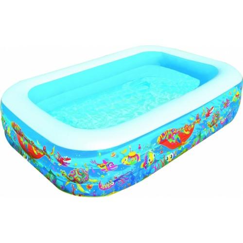 """Надувной бассейн для детей """"Подводный мир"""" 229х152х56 см"""