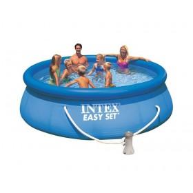 Надувной бассейн с фильтр-насосом 396х84см 28142