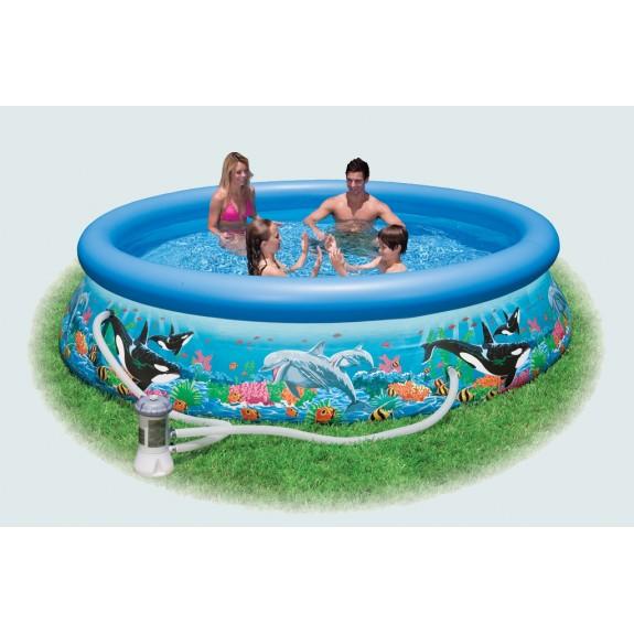 Надувной бассейн с фильтр-насосом 366х76см 28136