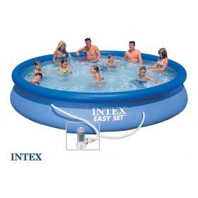 Надувной бассейн с фильтр-насосом 457х84см Intex 28158