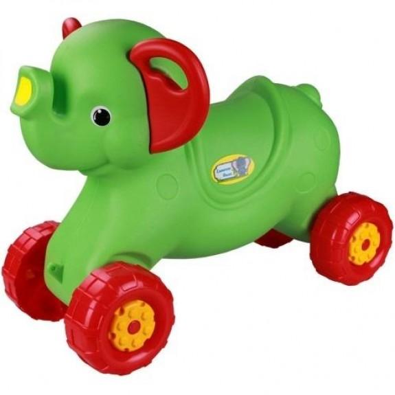 Каталка Слонёнок (зелёный)
