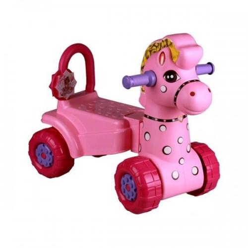 Каталка Лошадка (розовая)