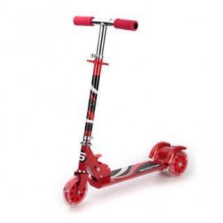 Самокат 3-х колёсный до 25кг(красный)