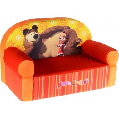 "Мини диван детский ""Маша и Медведь"""