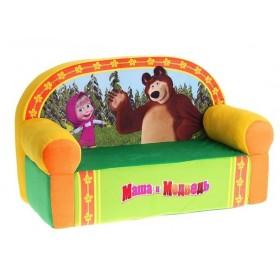 """Детский диванчик """"Маша и Медведь"""""""