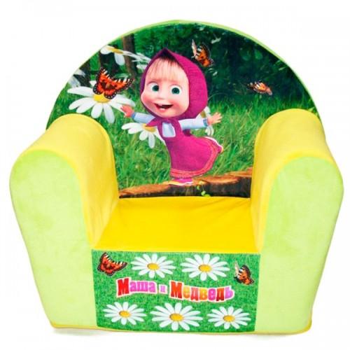 """Детское кресло """"Маша и Медведь"""""""
