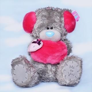 """Мягкая игрушка Медведь """"Me to You"""" с красными наушниками и муфтой"""
