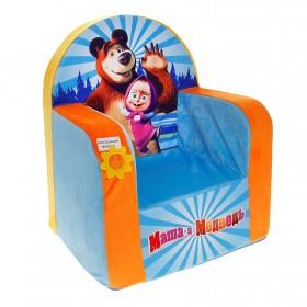 """Игровое кресло""""Маша и Медведь""""(музыкальное)"""