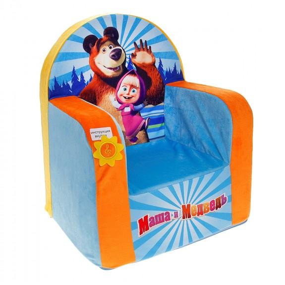 """Кресло """"Маша и Медведь"""" (музыкальное)"""