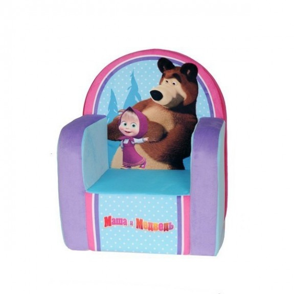 """Кресло """"Маша и Медведь с чехлом"""""""