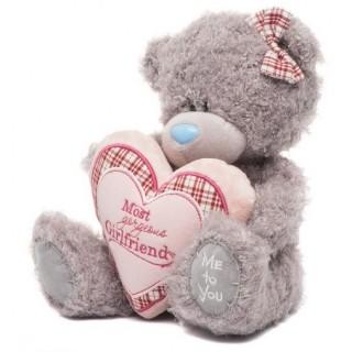 Мягкая игрушка Мишка Тедди Me To You - держит сердце - g01w3265