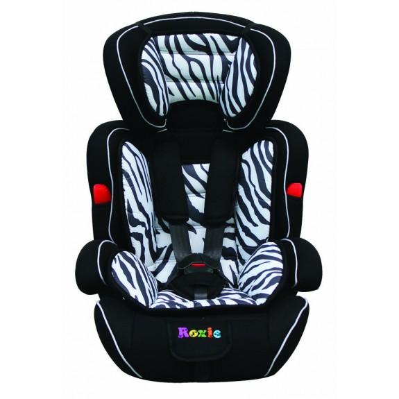 Автокресло Roxie Zoo zebra 9-36кг