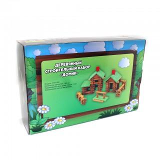 Деревянный строительный набор (FWT-052)
