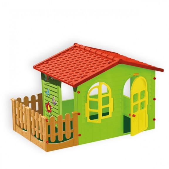 Пластиковый домик садовый