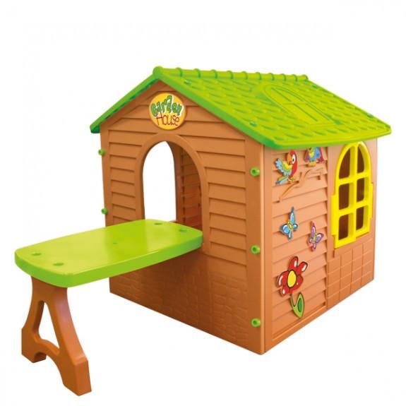 Пластиковый домик со столом