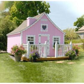 """Деревянный домик для детей """"Алиса"""""""