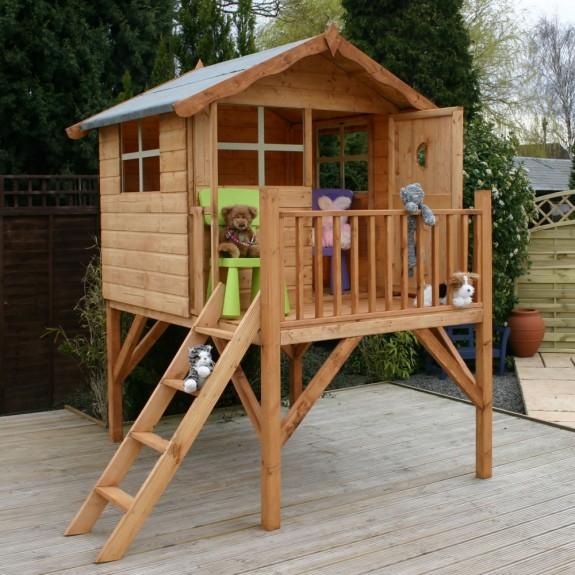 """Деревянный домик для детей """"На курих ножках"""""""