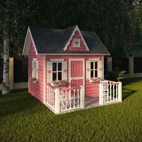 """Деревянный домик для детей """"Принцесса"""""""