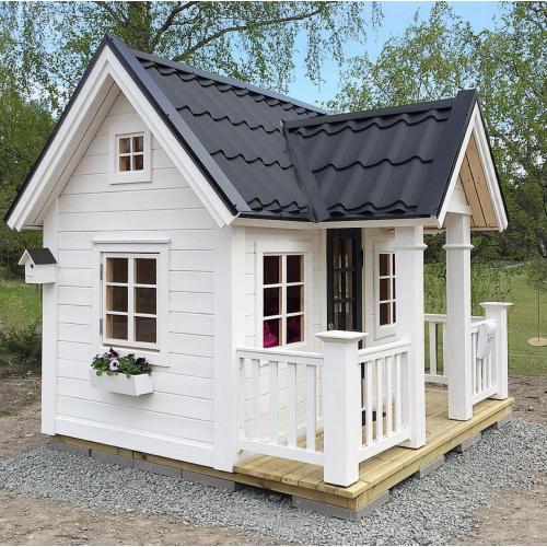 """Детский деревянный домик для дачи """"Стокгольм"""""""