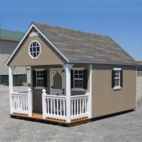 """Детский деревянный домик для дачи """"Техас"""""""