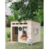 Домик для детей из дерева на дачу
