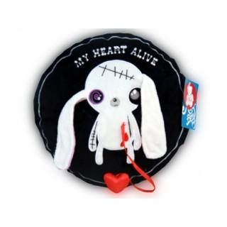 """Подушка """"Заяц живое сердце"""""""
