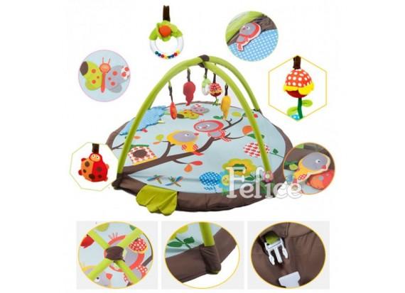 Какой выбрать развивающий коврик для ребенка