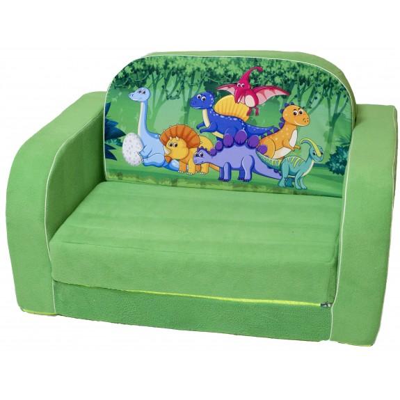 """Детский диван кровать """"Динозаврики"""""""