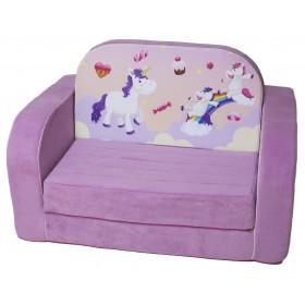 """Детский диван кровать """"Единороги"""""""