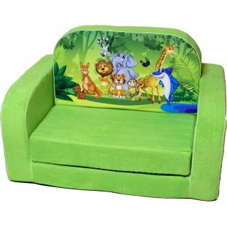 """Детский диван кровать """"Зверята"""""""