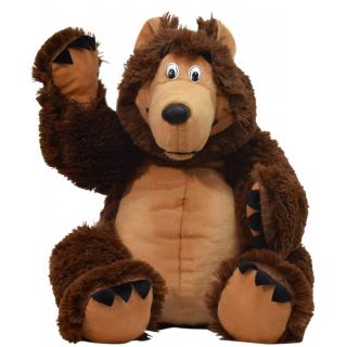 """Мягкая игрушка """"Бурый медведь"""""""