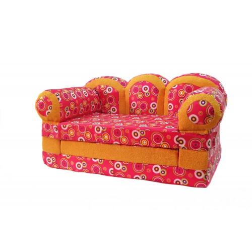 """Детский раскладной диван """"Прованс-розовый"""""""