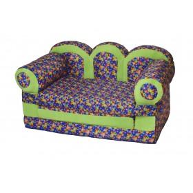 """Детский раскладной диван """"Прованс-Смайлы"""""""