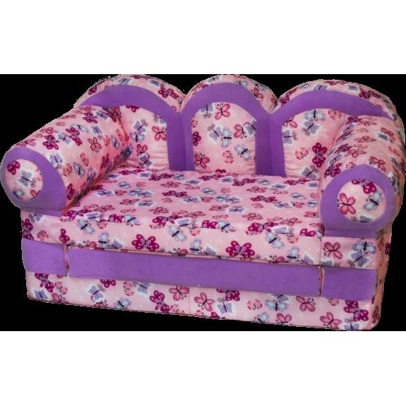 """Детский раскладной диван """"Прованс-бабочки"""""""
