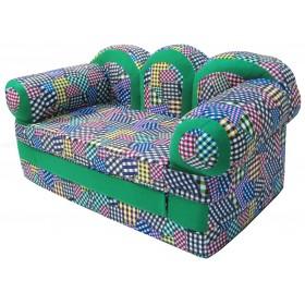 """Детский раскладной диван """"Прованс-заплатки"""""""