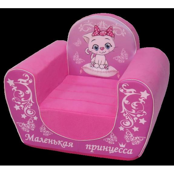 """Мягкое кресло """"Маленькая принцесса"""""""