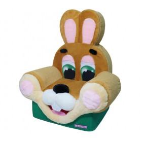 """Мягкая игрушка """"Кресло заяц"""""""