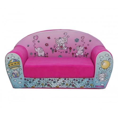 """Детский раскладной диван """"Слоники"""""""