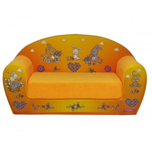 """Детский раскладной диван """"Зайчики"""""""