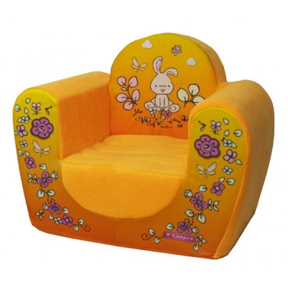 """Мягкое кресло """"Зайчики"""""""