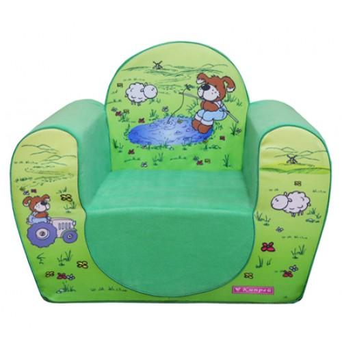 """Мягкое кресло """"Собачки"""""""