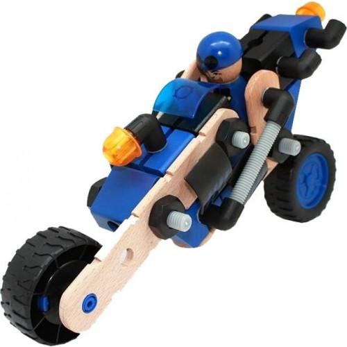 Деревянный конструктор мотоцикл (FWC-167)